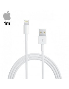 Cable USB Lightning Original iPhone 5 / 6 / 7 / 8 / X / iPad Mini 4/ Air / Pro (Bulk) 1 metro