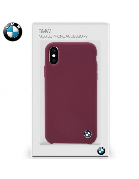 Carcasa iPhone X Licencia BMW Rojo