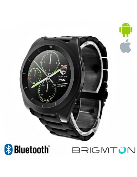 Smartwatch Brigmton BT6 Bluetooth Negro