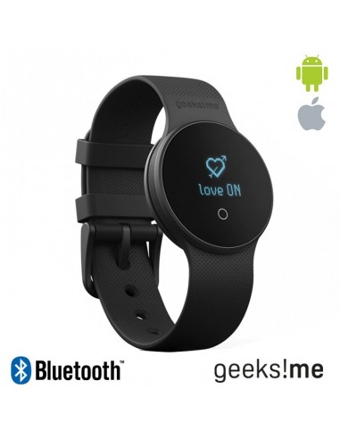 Smartwatch GeeksMe Bluetooth Life Lovers GME1 negro