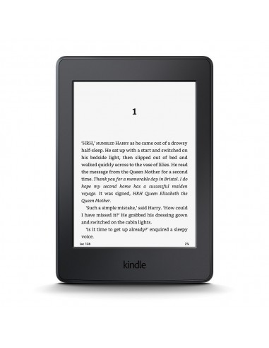 "EBook Kindle PaperWhite 6"" LCD iluminada Wifi negro"