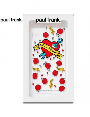 Carcasa TPU iPhone XR licencia Paul Frank Tattoo