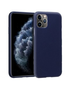 Funda gel TPU iPhone 11 Pro azul marino