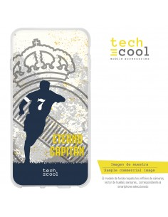 Carcasa gel TPU flexible personalizada Merengue Eterno Capitán