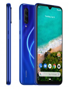 "Xiaomi Mi A3 Android One 6,09"" 128GB / 4GB RAM azul (Blue)"