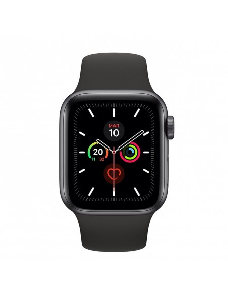 Reloj SmartWatch Apple Watch Series 5 caja aluminio 44mm correa deportiva negra (Space Grey)