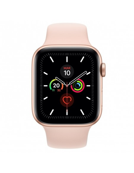 Reloj SmartWatch Apple Watch Series 5 LTE caja aluminio 44mm correa deportiva dorada (Gold)